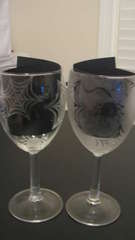 Spider Web Wine glasses