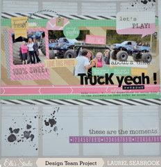 Truck Yeah - grungy girl
