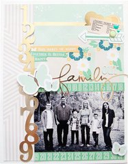 family layout for chickaniddy crafts