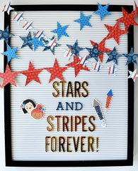 Stars & Stripes Letterboard