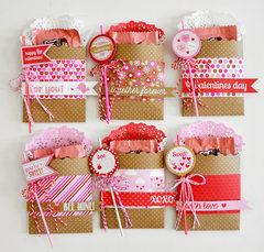 sweetheart treat bags   doodlebug design...