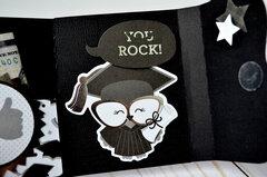 Graduation Gift Card Mini Album