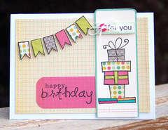 happy birthday (jane's doodles stamps)...
