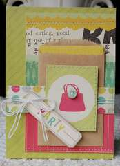 party card (gift card holder)...