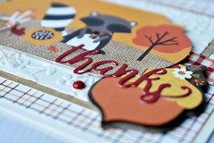 autumn thanks card