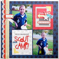 scout camp | bella blvd...