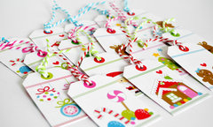 Quick & Easy Christmas/Holiday Gift Tags
