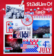 Stadium of Fire | Doodlebug Design