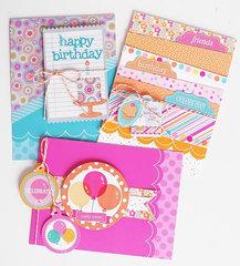 Sugar Shoppe card collection   Doodlebug Design