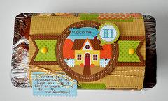 welcome to the neighborhood bread wrap | doodlebug