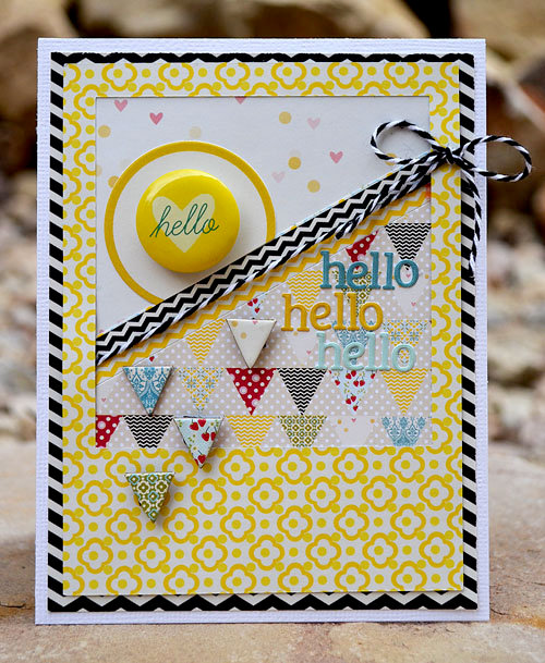 hello card   lily bee design