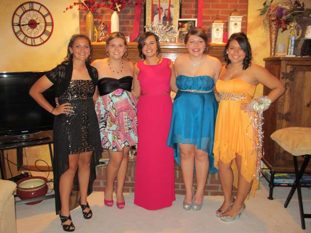 Pic of girls before homecoming again. (with shoes)