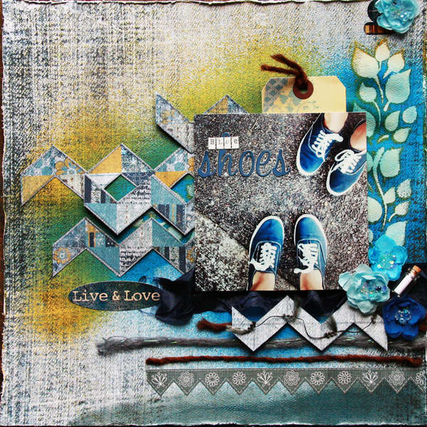 Blue Shoes ~Scraps of Darkness~