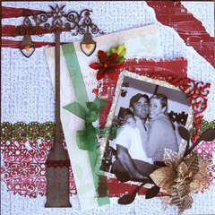 Christmas Couple ~Dusty Attic~