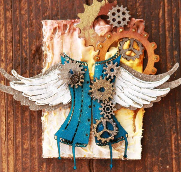 Steampunk ATC ~Dusty Attic~