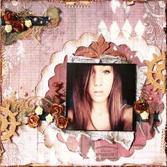 Antiquities Layout ~Donna Salazar Designs~