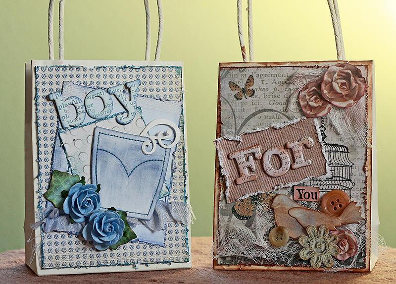 Mini Gift Bags ~Donna Salazar~