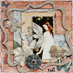 Delicate Angel ~Donna Salazar & Dusty Attic~