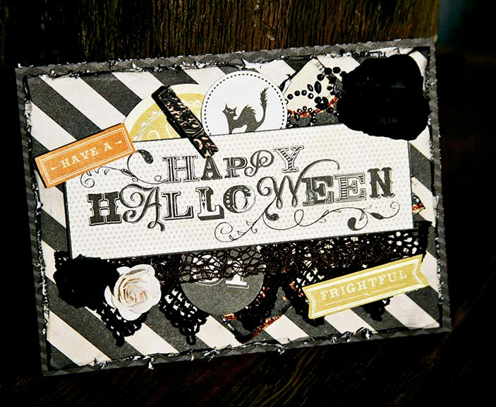 Halloween Card ~Scraps of Darkness~
