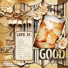 Life is Good Today ~Scraps of Darkness~