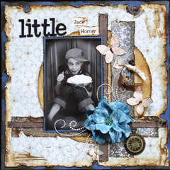 Little Jack Horner ~Swirlydoos~