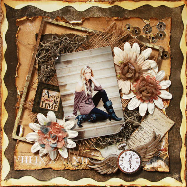 A Step Back in Time ~Scraps of Darkness & Dusty Attic~