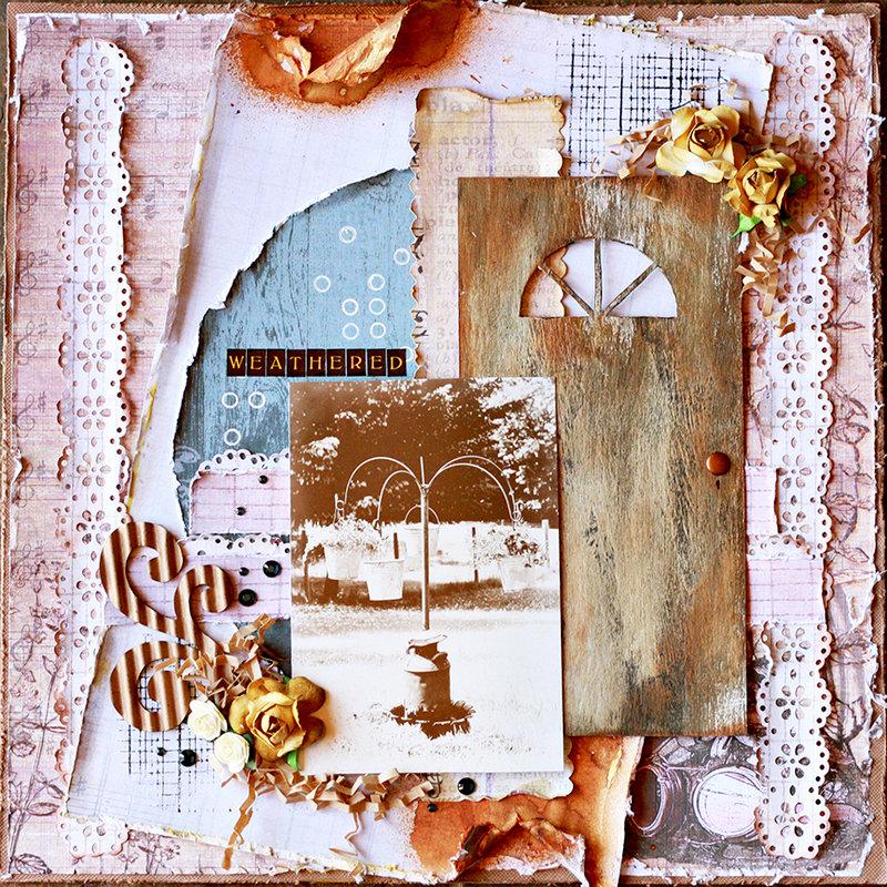 Weathered ~Donna Salazar Designs~