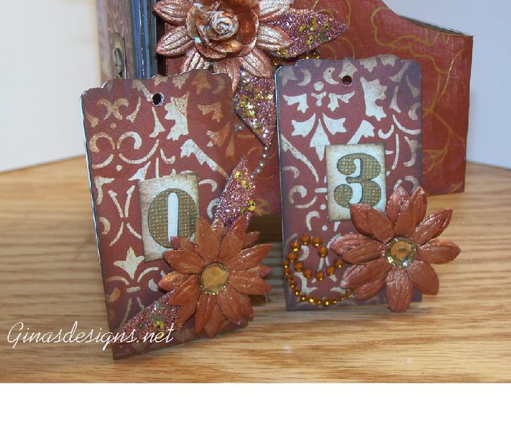 DT project 1 for Gina's Designs Perpetual Calendar