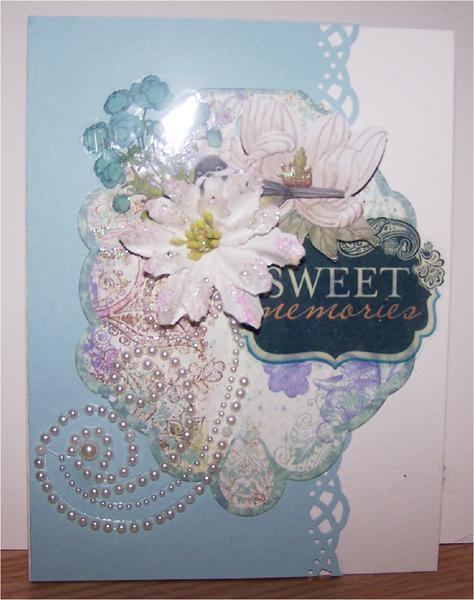 Sweet Memories Card