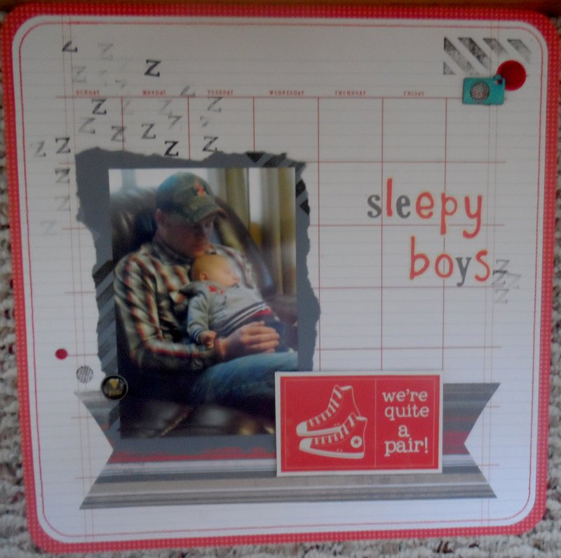 Sleepy boys-we're quite a pair