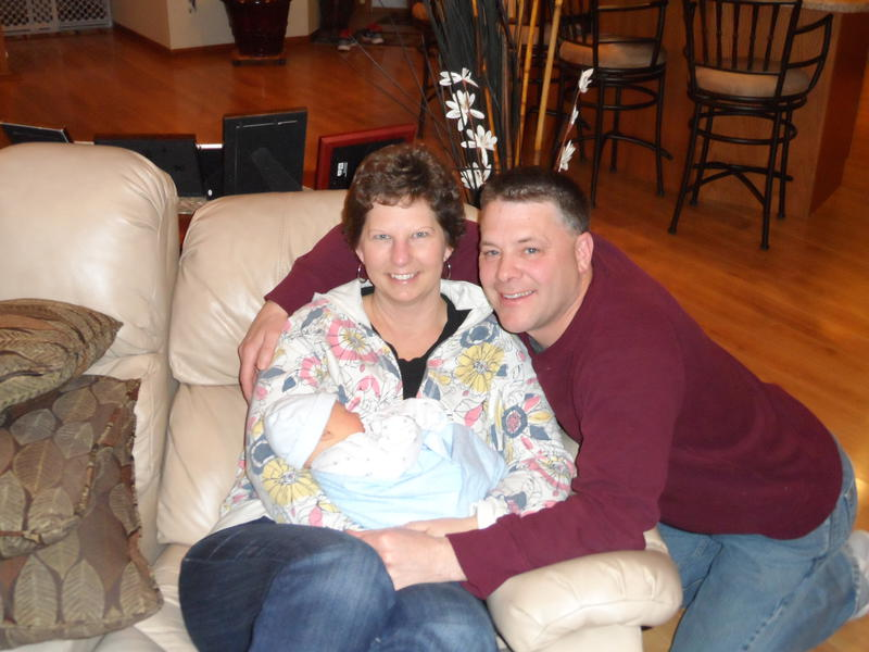 Gpa, Gma and our grandson