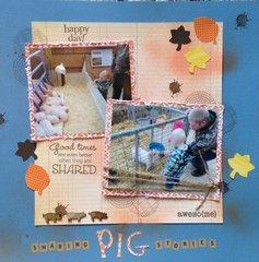 Sharing pig stories
