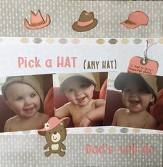 Pick a HAT (any hat) Dad
