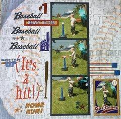 Baseball (It's a hit!)