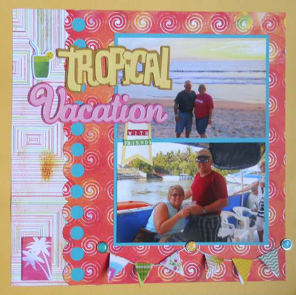 Tropical vacation with friends