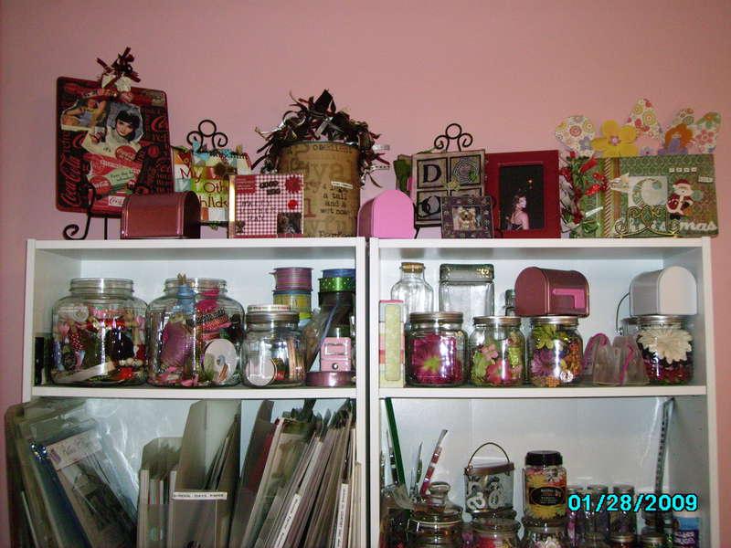 Scrapbook Room - Alter Items displayed
