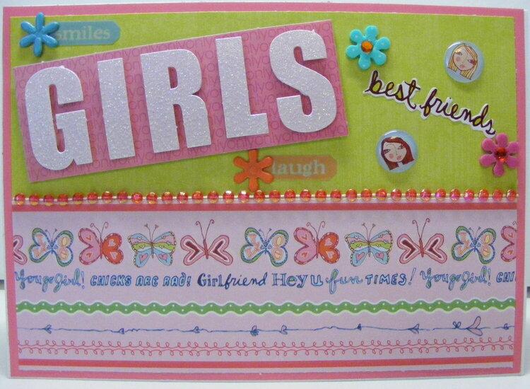Girls, Best Friends