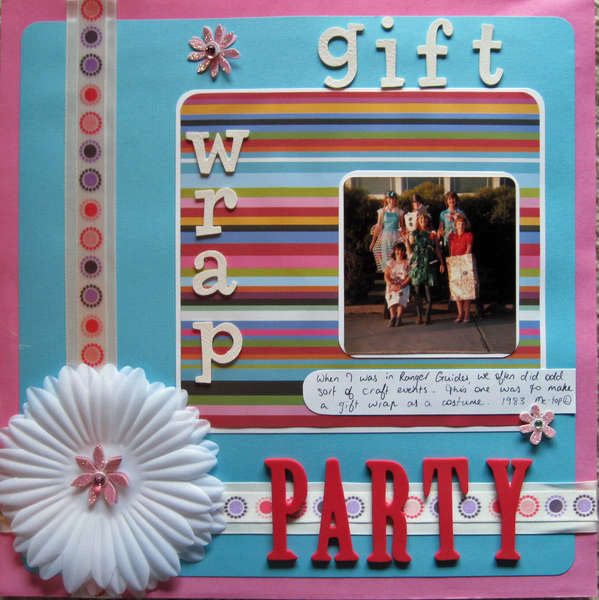 Gift Wrap Party