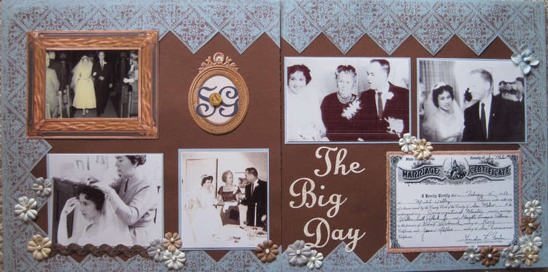 Scott & Georgette - The Big Day 1959
