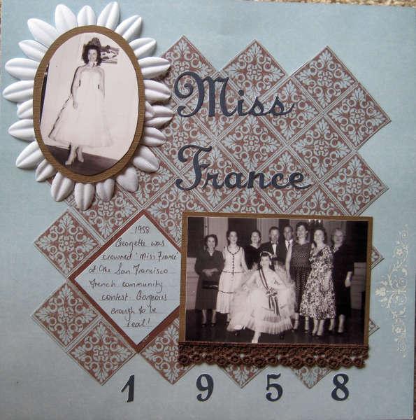 Miss France 1958