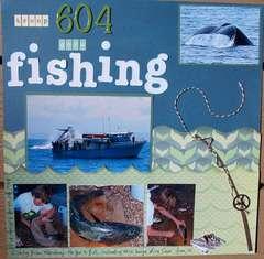 Troop 604 goes fishing
