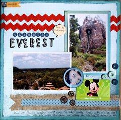 Riding Mt Everest