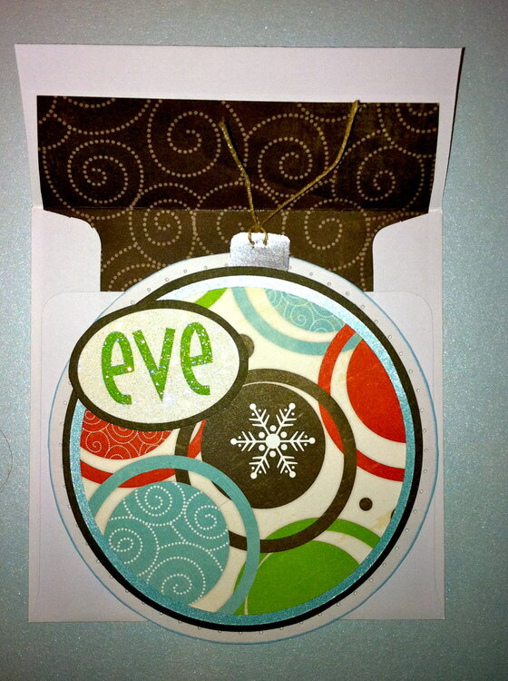 Traditional Ornament Card