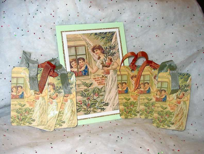 Xmas Card and Tags #1
