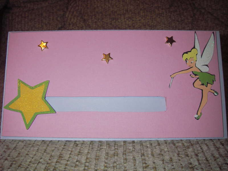 Tinkerbell Slider card