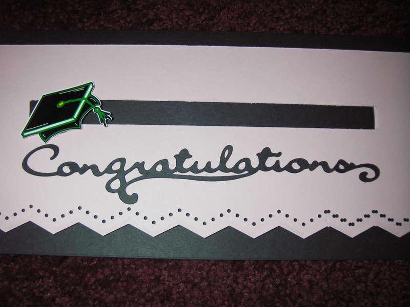 Girl Grad. spinner card