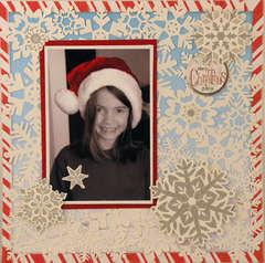 Emily's Santa Hat