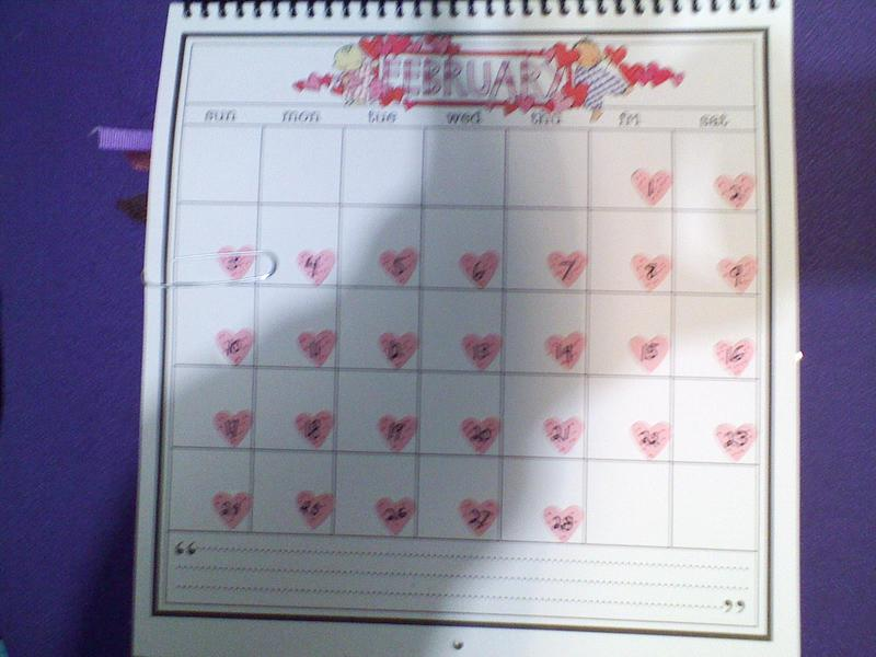 Calendar page 4