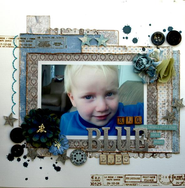 Big Blue Eyes *Maja Design*