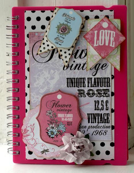 little notebook *NEw Kaisercraft*